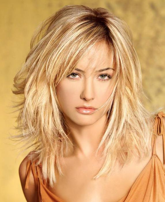 Fashion haircuts for medium hair photo