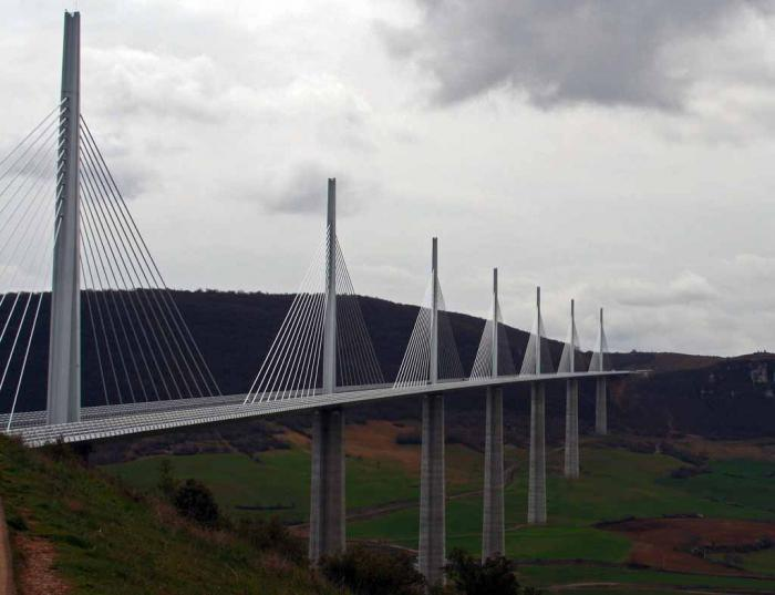 the highest bridge in the world is france