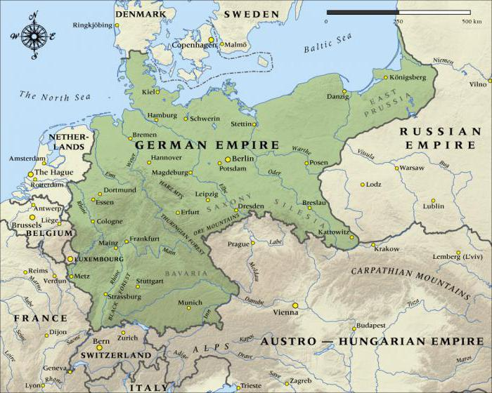 a look at the division of germany before the vienna settlement in 1815