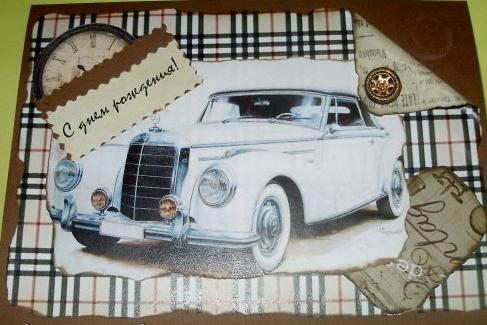 скрапбукинг открытки с днем рождения для начинающих