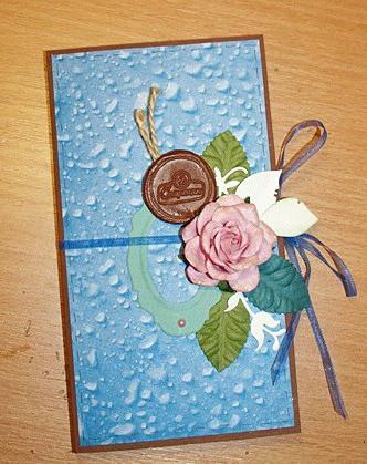 открытки скрапбукинг с днем рождения мастер класс
