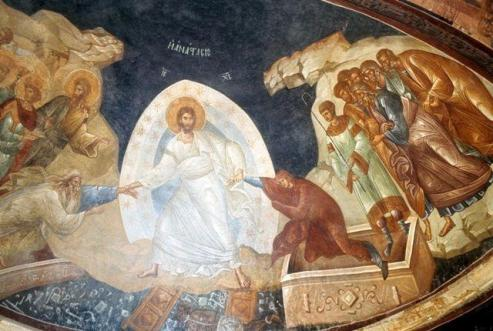 frescoes of the cathedral