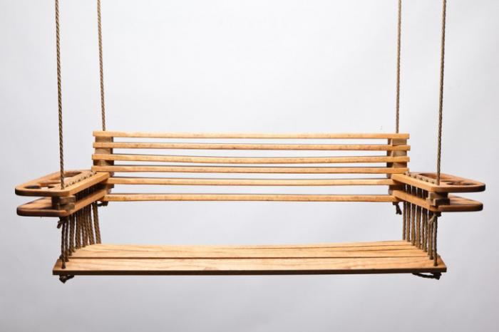 Children's swing at home