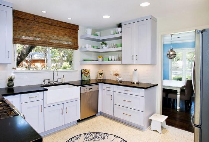 corner kitchen for a small kitchen