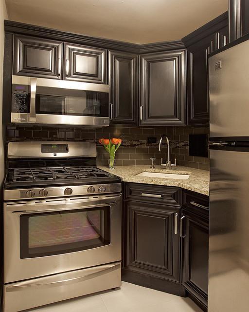small corner kitchen