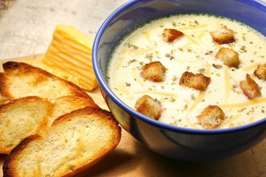 Рецепт приготовления сырного супа с фото