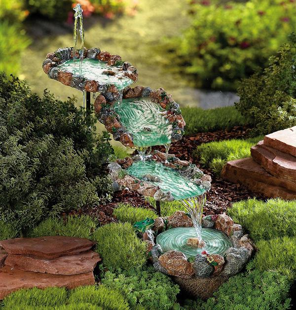 how to make a fountain in the country with their own hands