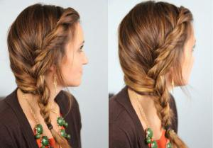 simple hairstyles for medium hair for girls