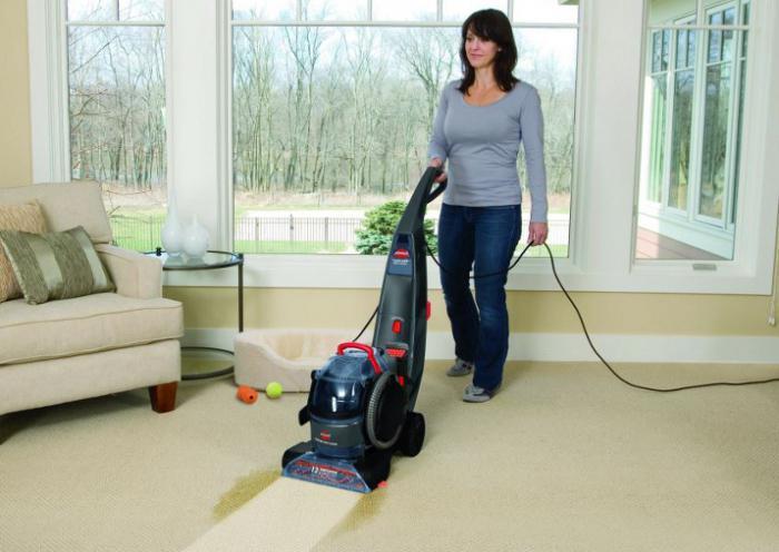 Моющие средства для моющих пылесосов: как выбрать и какими свойствами они обладают