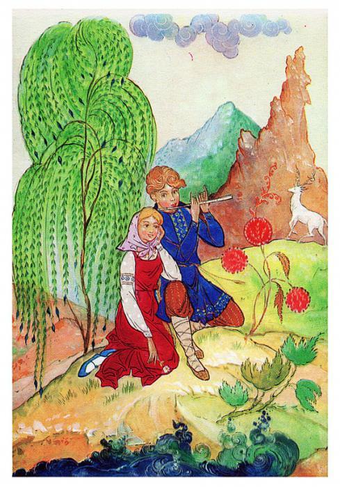 Герои сказок бажова каменный цветок