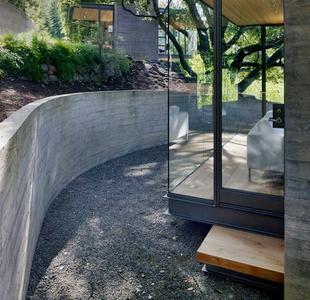 Как сделать подпорную стенку из бетона 16
