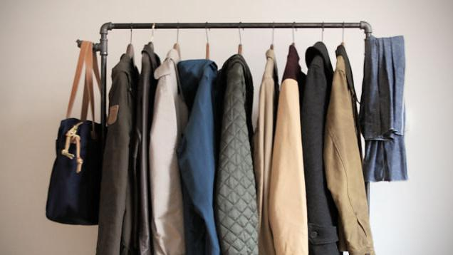 Кронштейны для одежды своими руками