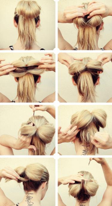 Самой сделать причёску в домашних условиях