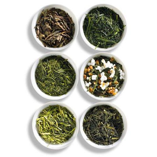 Varieties and types of tea