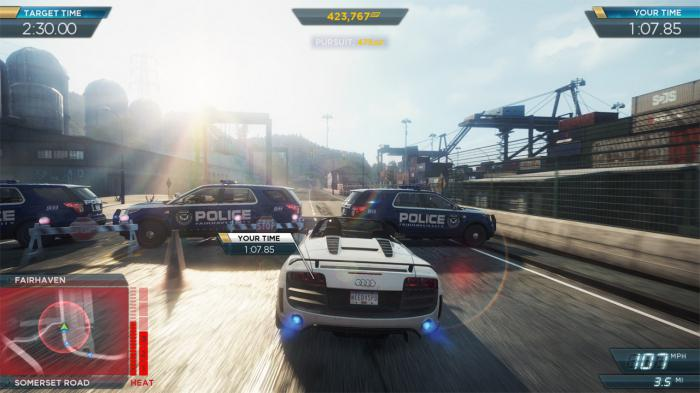 прохождение need for speed most wanted