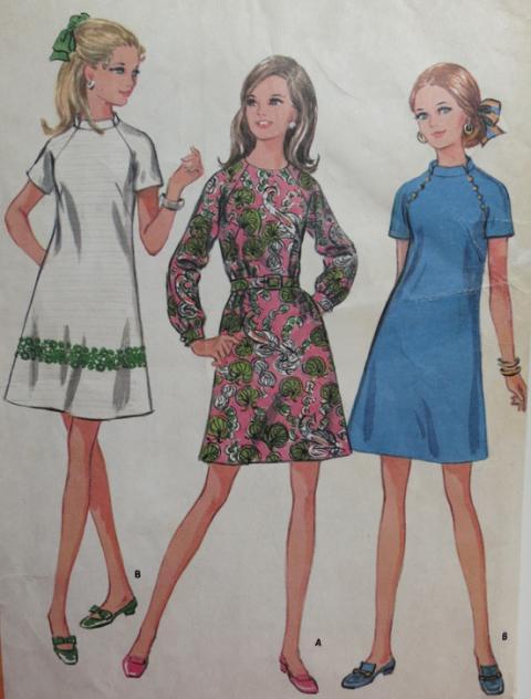 Как сшить платье с чего начать