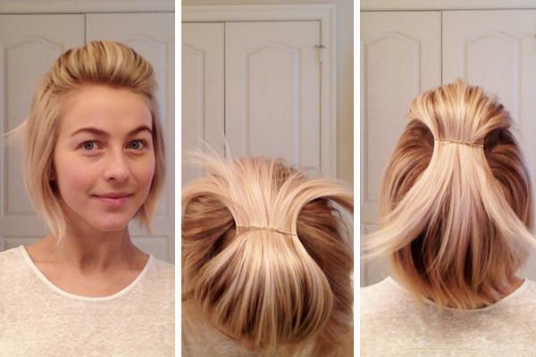 Как сделать красивую укладку с коротких волос