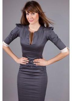 офисные платья фото