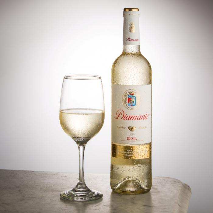 Испанское белое вино