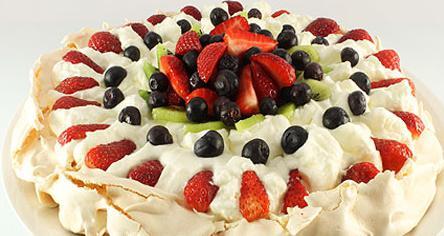 десерт Павлова торт