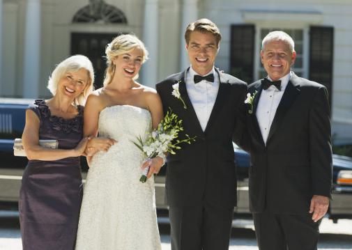 Слова благодарности родителям на свадьбе от дочери
