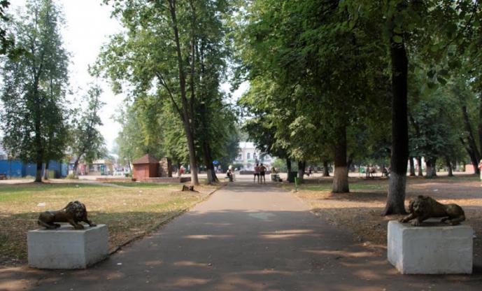 City day Vyshny Volochek