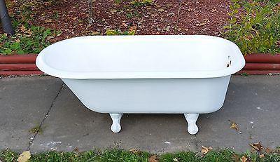 cast iron bath size