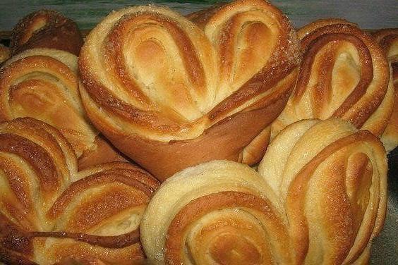 Красивые домашние булочки