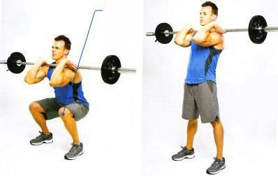 front squats or regular