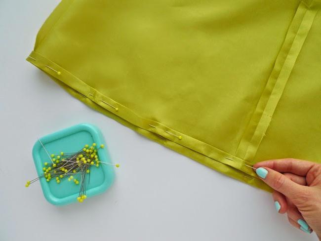 как сшить юбку трапеция выкройка