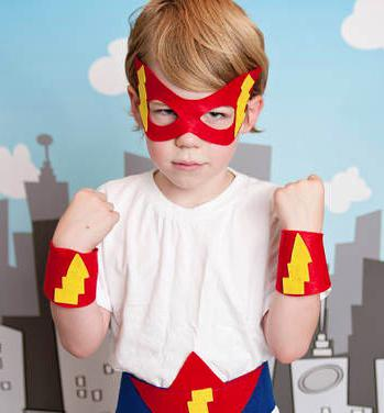 superhero costume do it yourself