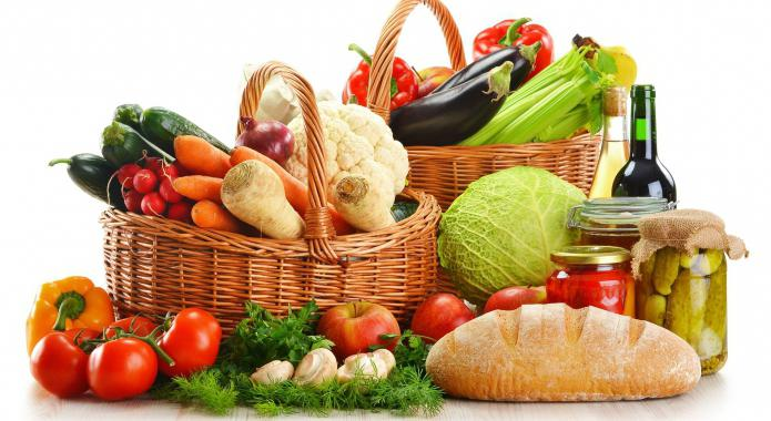 Щелочная диета - меню