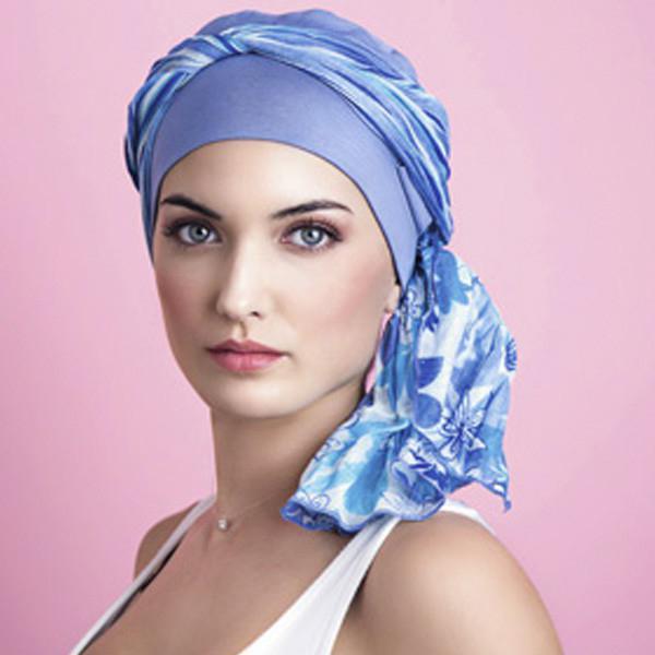 завязать шарф палантин