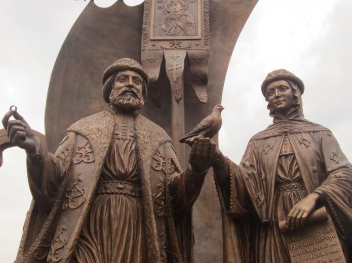 prayer to saints peter and fevronia