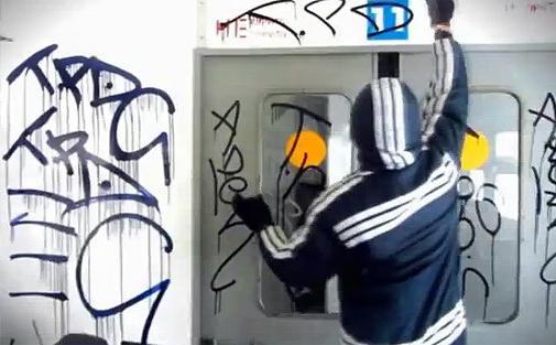 граффити на стенах фото