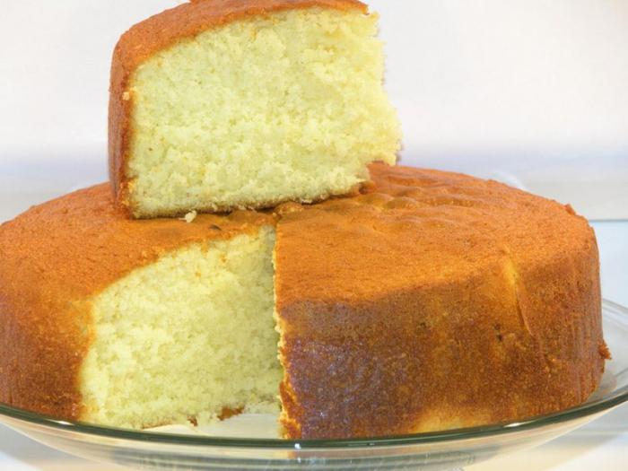 Быстрый и простой бисквит рецепт с фото