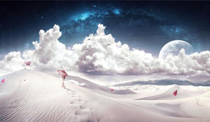 dream beach sand