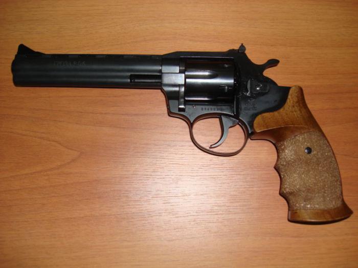 Инструкция револьвер гроза