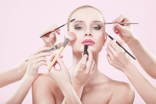 макияж на свадьбу своими руками