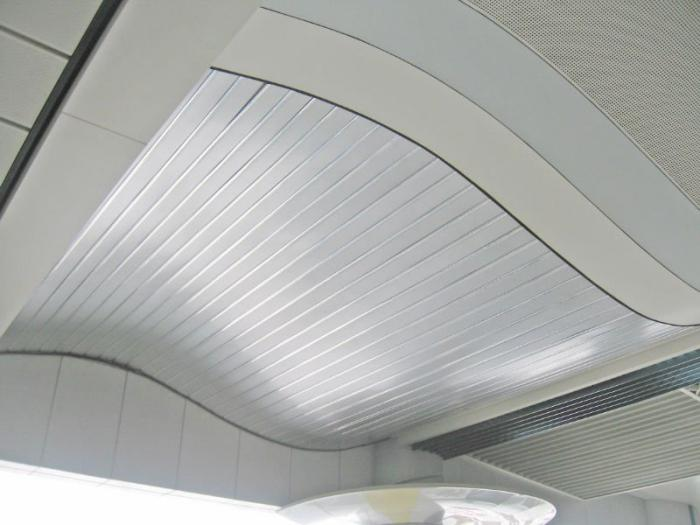 fixtures for slatted ceilings