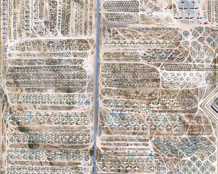 aircraft graveyard in the USA