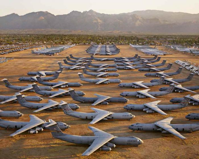 cemetery aircraft photo