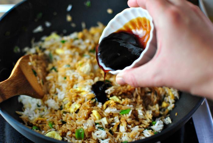 Блюда с соевым соусом рецепты