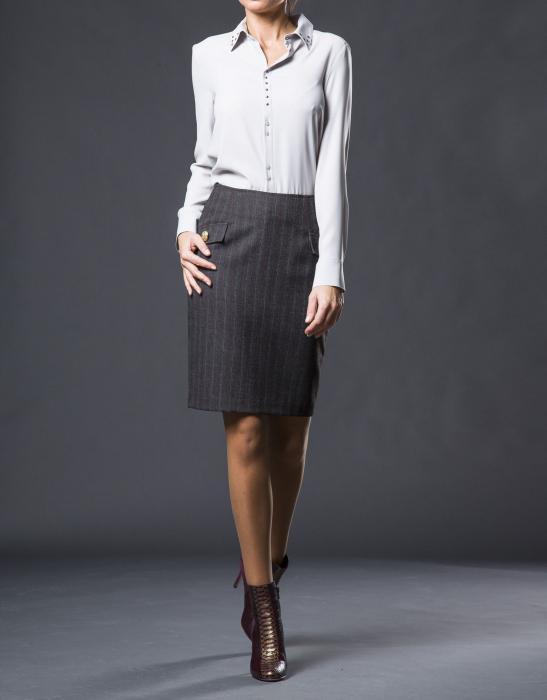straight skirt pattern construction
