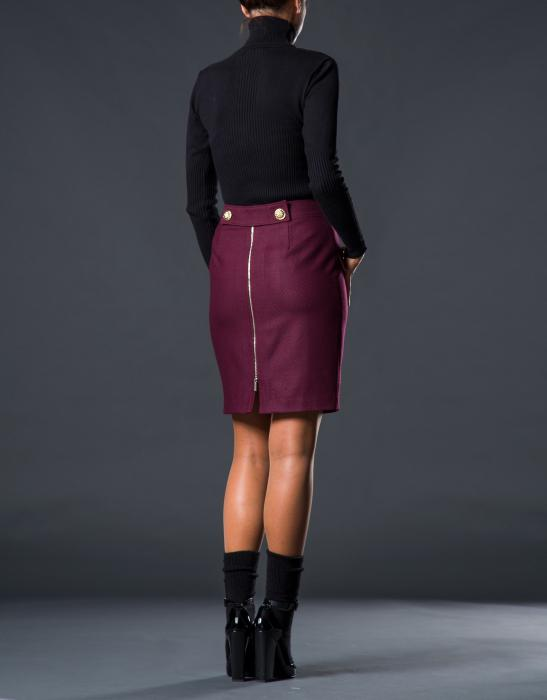 how to build a straight skirt pattern