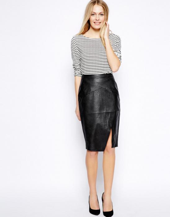 straight long skirt pattern