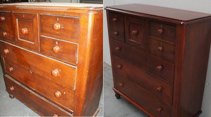мастер класс реставрации старой мебели