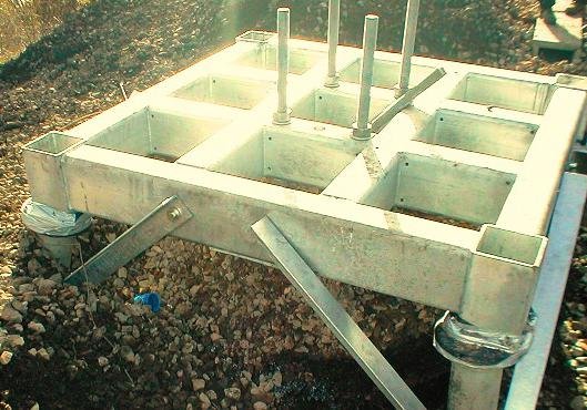 asbestos pipe foundation