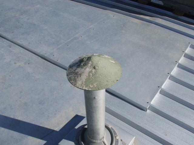 asbestos chimney flue