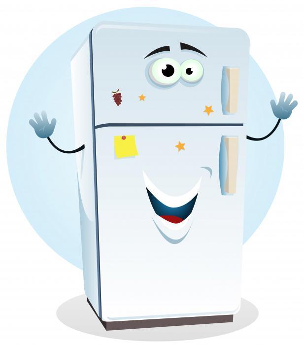 холодильник атлант горит